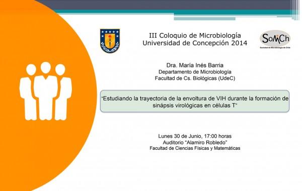 Coloquios de Microbiología – 30 de Junio – Concepción