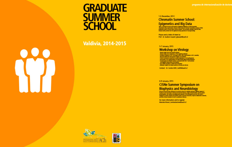 Graduate Summer School – Valdivia, 2014 – 2015