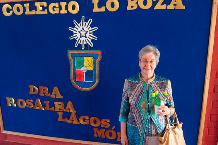 Colegio de Renca lleva el nombre de la académica Rosalba Lagos Mónaco
