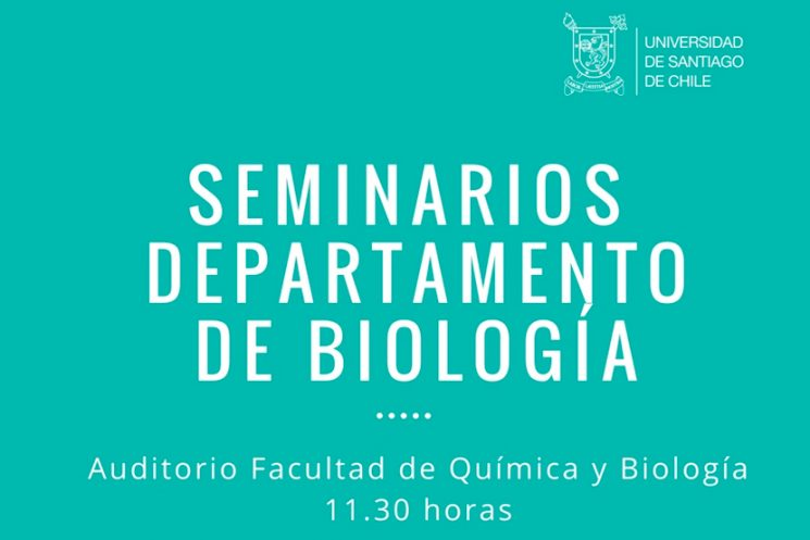 Seminario Departamento de Biología, Sala Louis Pasteur