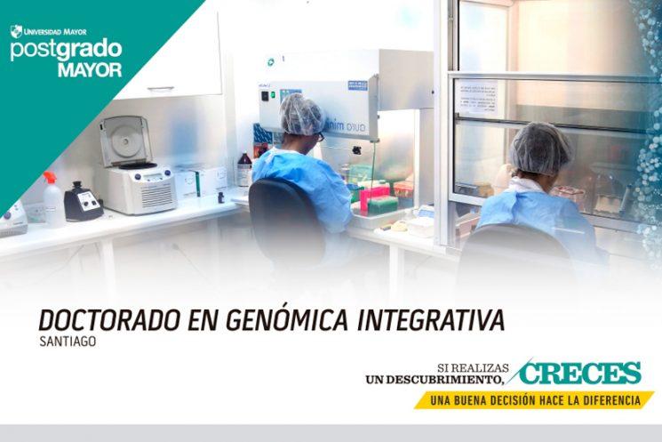 Admisión 2018 programa de Doctorado Genómica Integrativa- UMayor