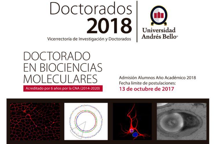 Doctorado en Biociencias Moleculares UNAB
