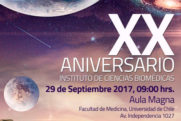 XX Aniversario del Instituto de Ciencias Biomédicas, 29 de Septiembre 2017