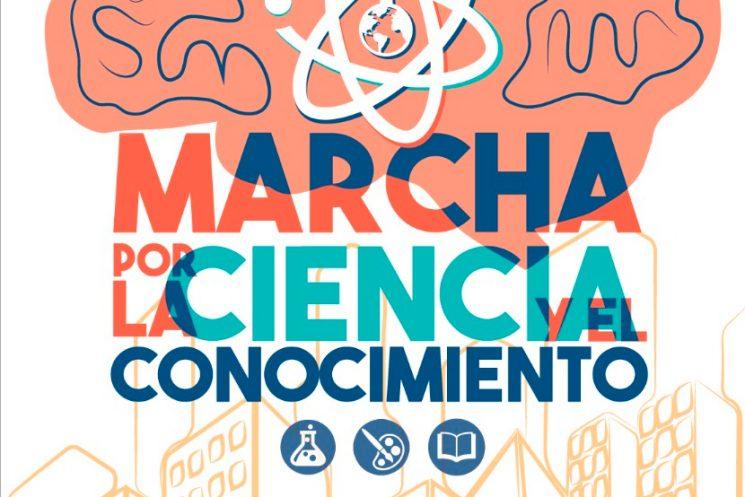 Marcha por la Ciencia y el Conocimiento 2018 Abril14