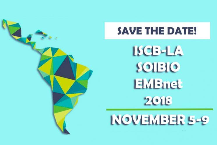 ISCB-LA SOIBIO EMBnet 2018 | Nov 5 – 9, 2018 | Viña del Mar, Chile