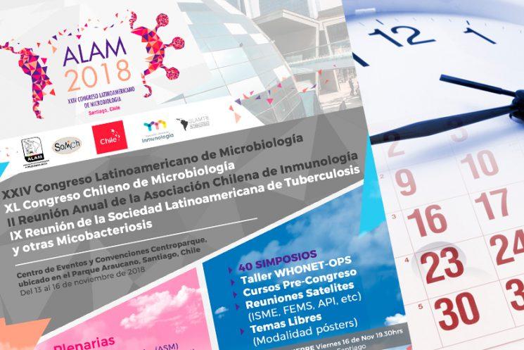 Cronograma de presentaciones de posters-paneles (POSTER PRESENTATIONS) – ALAM 2018, SANTIAGO, CHILE