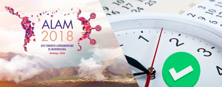¡Ya se encuentra disponible el Programa final del Congreso ALAM2018!