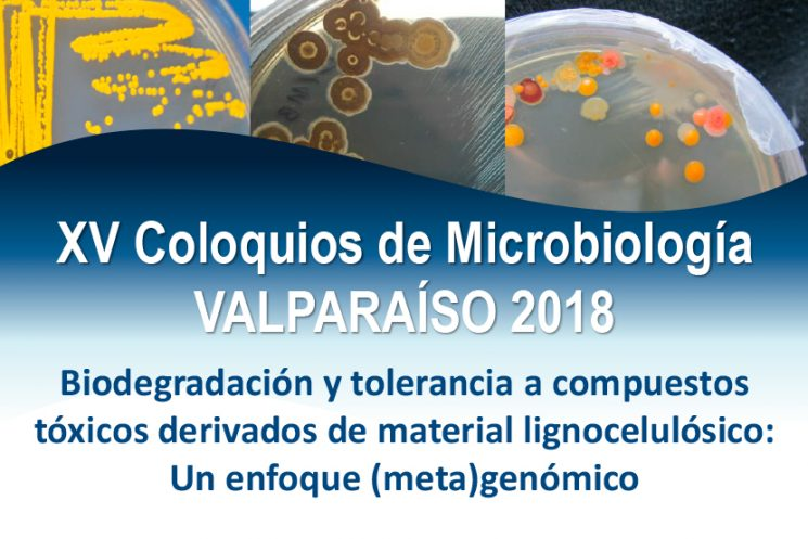 XV Coloquios de Microbiología VALPARAÍSO 2018