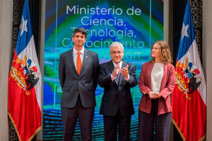 Andrés Couve es el nuevo ministro de Ciencia, Tecnología, Conocimiento e Innovación