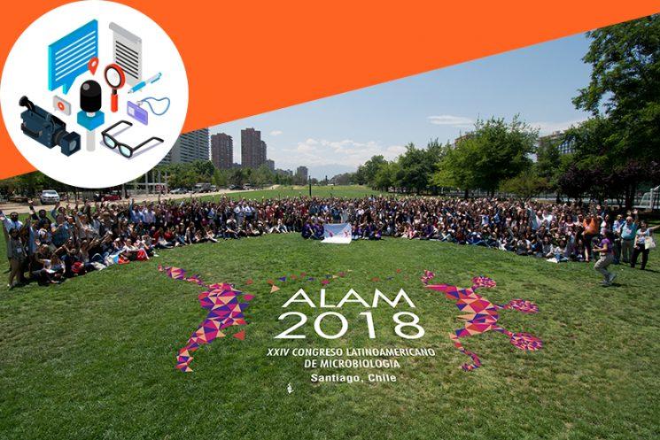 ALAM 2018 trajo a Chile lo último en Microbiología
